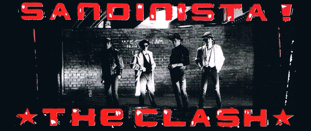 Sandinista! The Clash cropped.