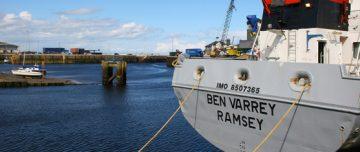 Rear of ship