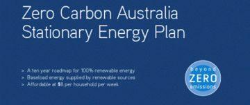 Zero Carbon Australia Stationary Energy Plan