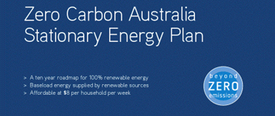 Zero Carbon Australia Stationary Energy Plan