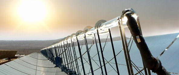 Solar thermal concentrator