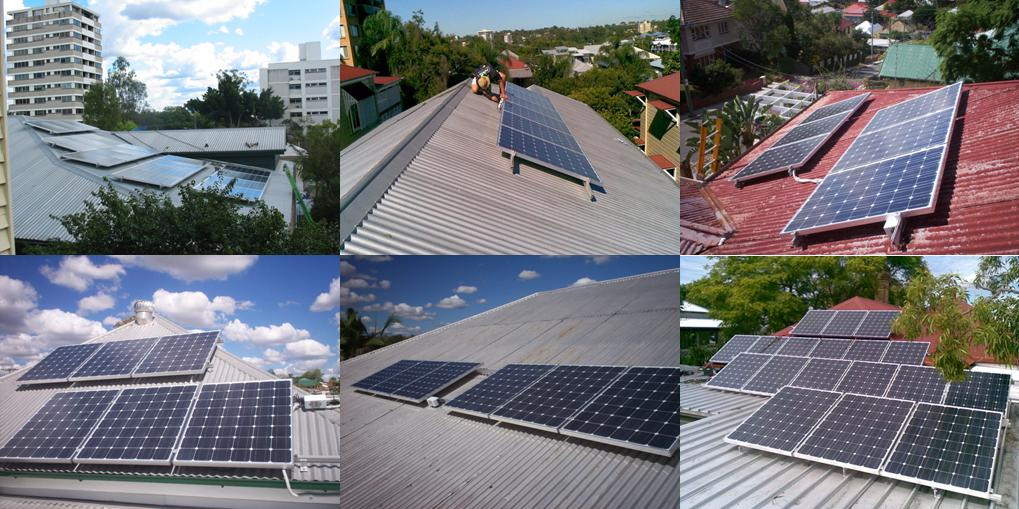 Examples of Local Power solar PV installations Brisbane 2008