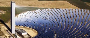 Spain solar thermal plant