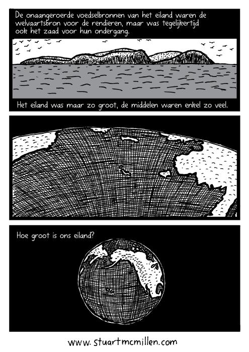 Eiland oceaan tekening. Zoom uit aarde cartoon. De onaangeroerde voedselbronnen van het eiland waren de welvaartsbron voor de rendieren, maar was tegelijkertijd ook het zaad voor hun ondergang.Het eiland was maar zo groot, de middelen waren enkel zo veel. Hoe groot is ons eiland?