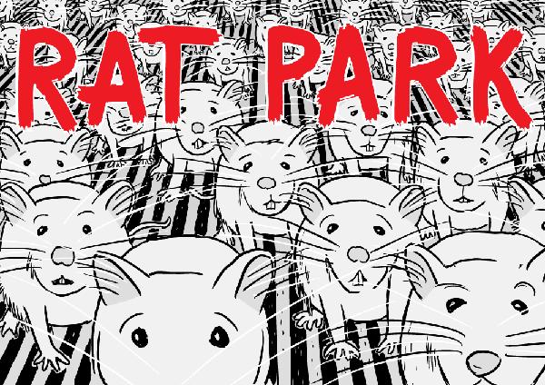 Rat Park comic teaser by Stuart McMillen. Maus Art Spiegelman.