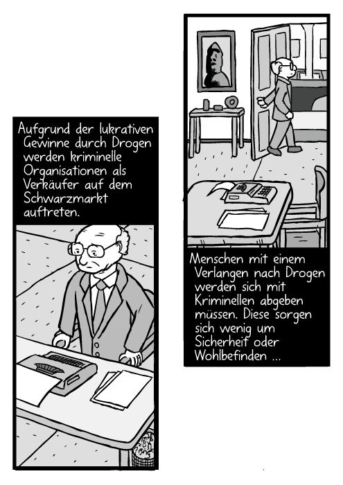 Stuhl comic  War on Drugs (Deutsch) – Stuart McMillen comics
