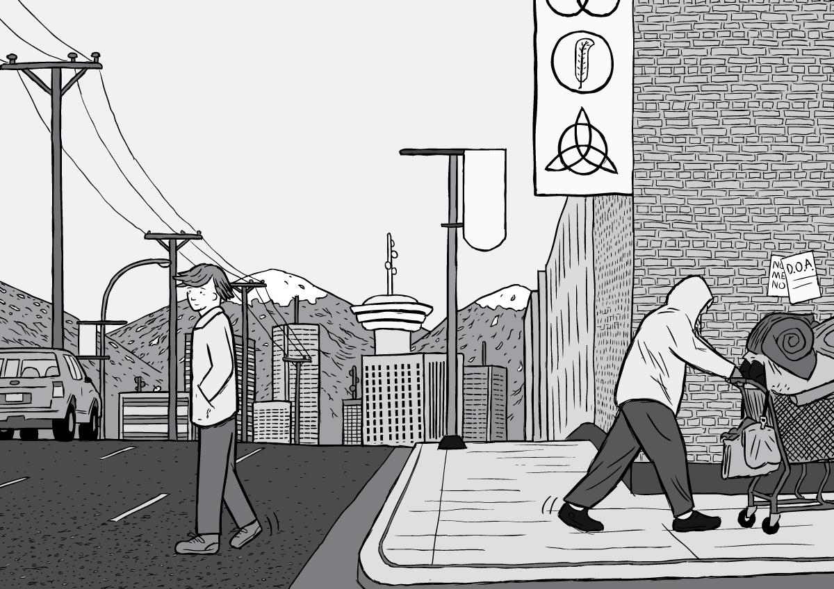 London Comic Con illustrations - Stuart McMillen commissioned cartoons