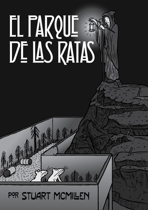 Cómic El Parque de las Ratas, un experimento de drogas por Stuart McMillen. Caricatura El Ermitaño – Led Zeppelin.