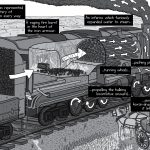 High-resolution Peak Oil comic artwork - for republication - pages 14-15.