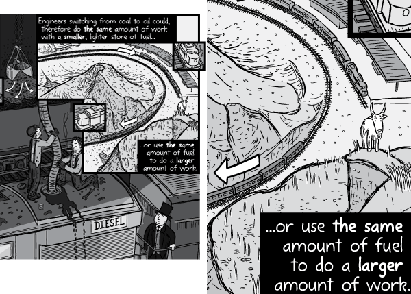 Example of additional artwork details that are hard to perceive via the website version of the comic. Especially when users read the comics via smartphones.