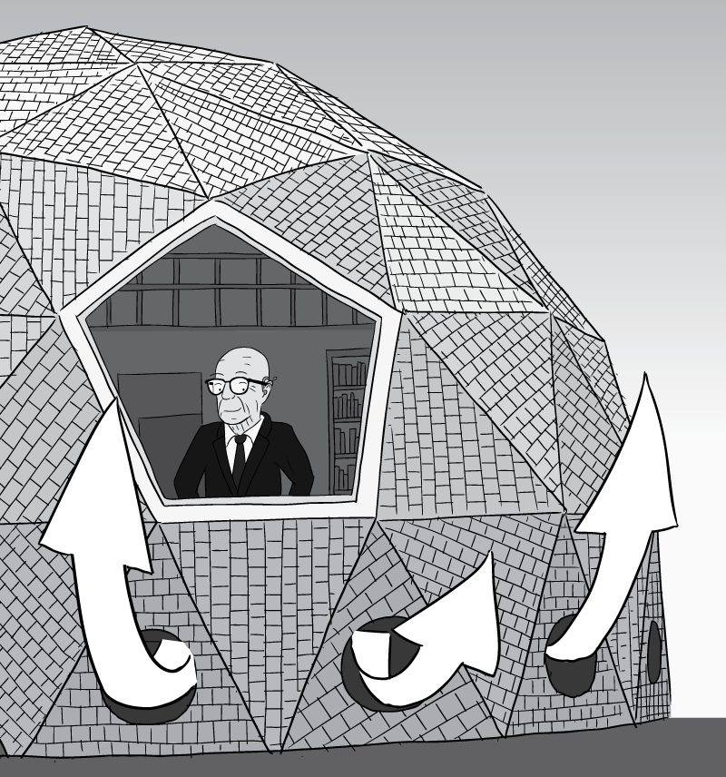 Geodesic Dome Home Plans: Buckminster Fuller's Chilling Domes: The Physics