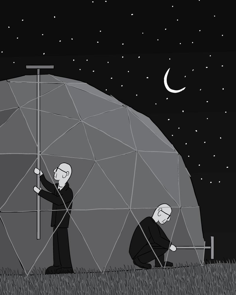Geodesic Dome: Buckminster Fuller's Chilling Domes: The Physics