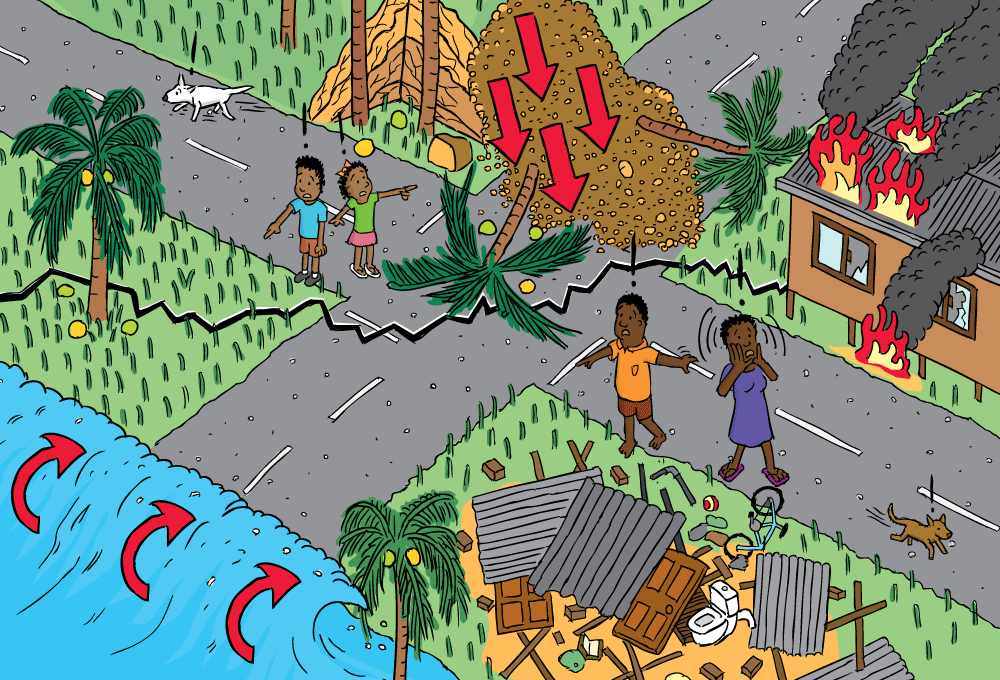 Geoscience Australia Booklets Stuart Mcmillen Cartoon Commissions