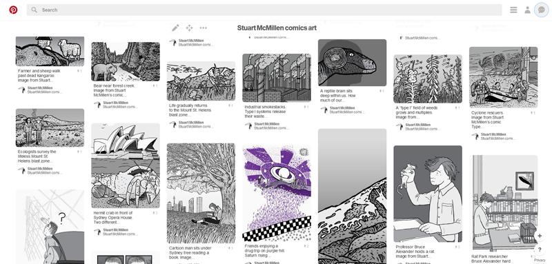 Stuart McMillen's Pinterest page