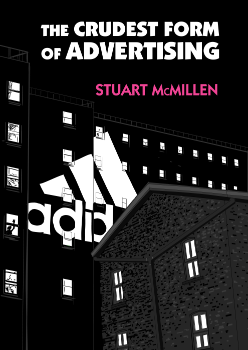 The Crudest Form of Advertising by Stuart McMillen. Parody of album cover of