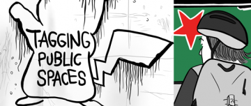 Tagging Public Spaces - thumbnail for comic about billboards