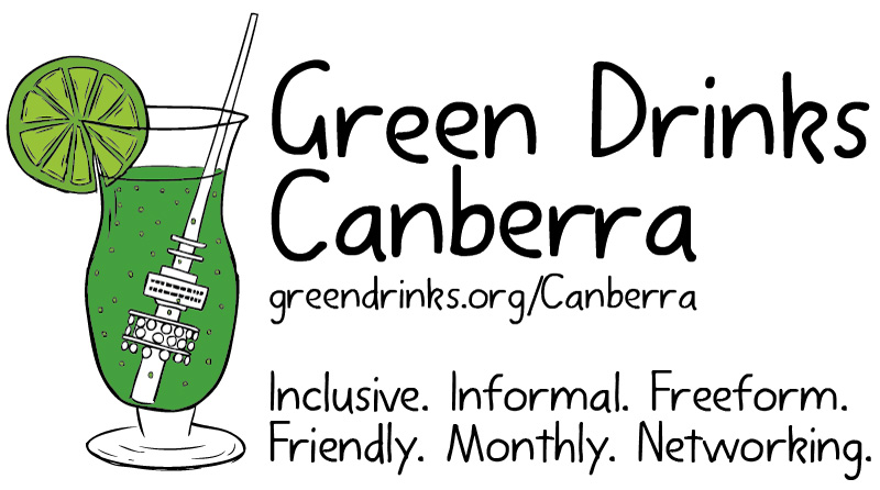 Green Drinks Canberra logo