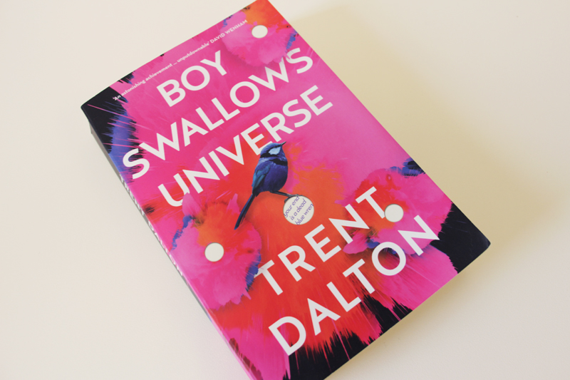 "Book cover: ""Boy Swallows Universe"" by Trent Dalton"