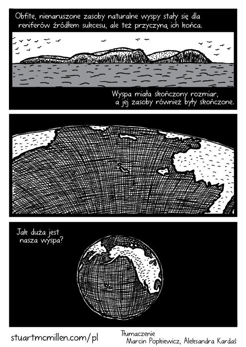 Wyspa ocean rysunek. Oddalenie Ziemia komiks. Obfite, nienaruszone zasoby naturalne wyspy stały się dla reniferów źródłem sukcesu, ale też przyczyną ich końca. Wyspa miała skończony rozmiar, a jej zasoby również były skończone. Jak duża jest nasza wyspa?