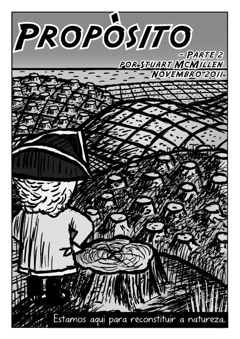 Registado floresta quadrinhos. Cartoon explorador. Propósito - Parte 2 cartoon