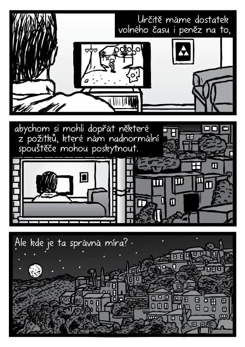 Město noc měsíc hvězdy budovy domy kresba komiks. Určitě máme dostatek volného času i peněz na to, abychom si mohli dopřát některé z požitků, které nám nadnormální spouštěče mohou poskytnout. Ale kde je ta správná míra?