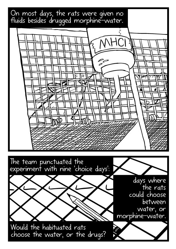 Rat Park comic by Stuart McMillen - page 26 (unfinished - line art only)