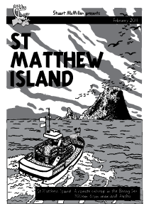 Thumbnail of St Matthew Island comic cover by Stuart McMillen