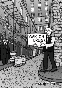 Thumbnail of War on Drugs comic cover by Stuart McMillen