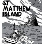 High-resolution St Matthew Island comic artwork - for republication - page 1.
