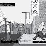 High-resolution Rat Park comic artwork - for republication - pages 38-39.