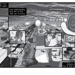 High-resolution Peak Oil comic artwork - for republication - pages 50-51.