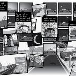 High-resolution Peak Oil comic artwork - for republication - pages 52-53.
