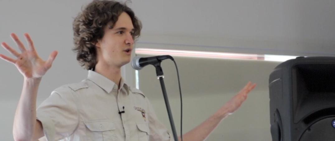 Stuart McMillen personal reflection talk at Sunday Assembly