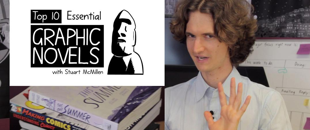 Top 10 Essential Graphic Novels - video review Stuart McMillen