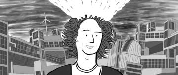 Cartoon Stuart McMillen head, having mind blown.