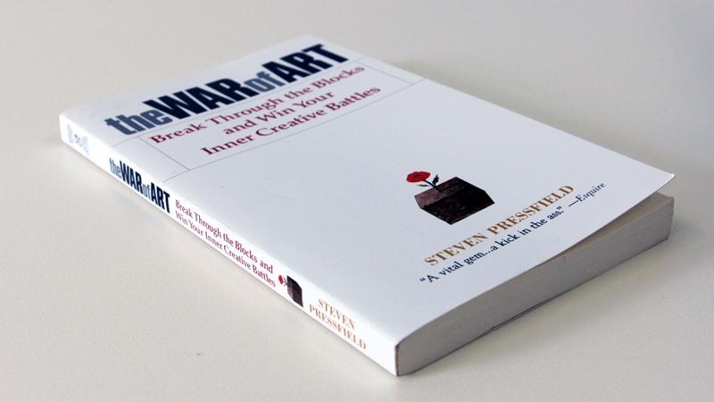 """Book cover: Steven Pressfield - """"The War of Art"""""""