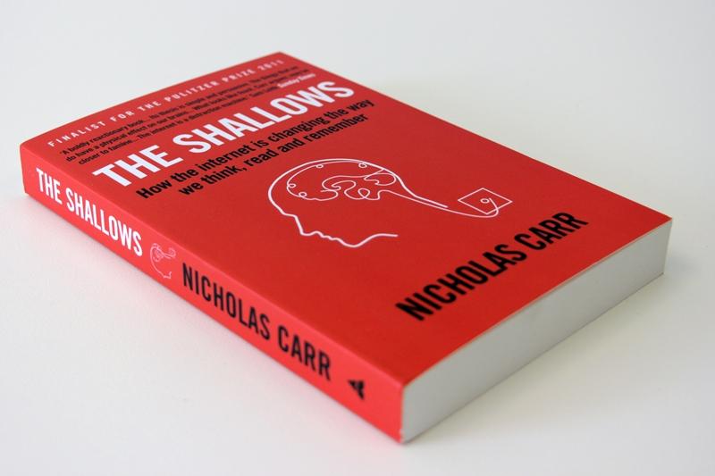 """Book cover: Nicholas Carr - """"The Shallows"""""""