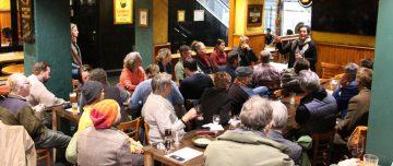 Tenth anniversary of a Green Drinks organiser