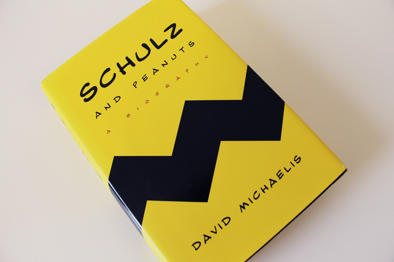 "Book cover: ""Schulz and Peanuts"" by David Michaelis"