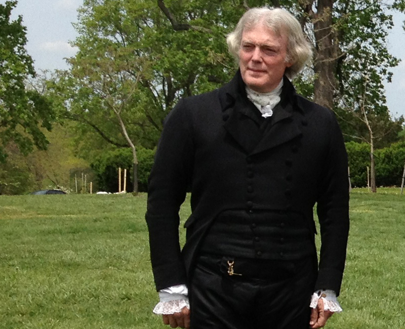 Thomas Jefferson interpreter Bill Barker