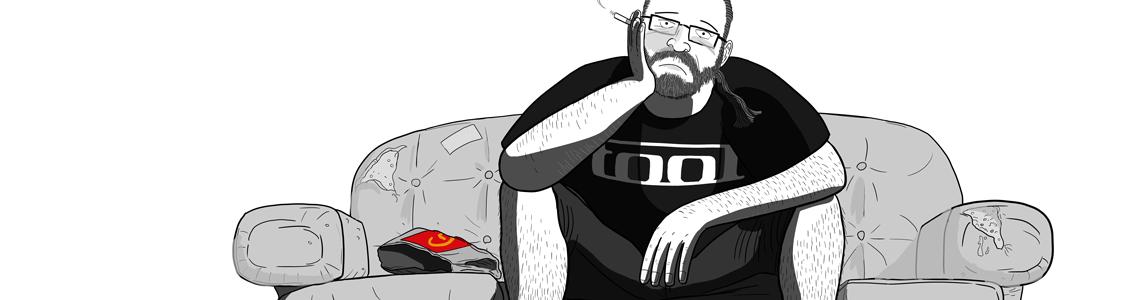 Greg Larsen cartoon - This Might Not Be Hell