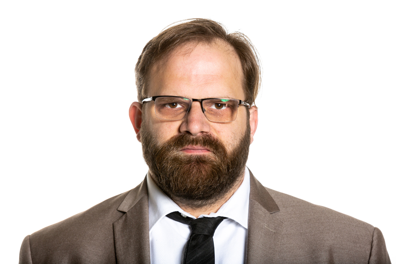 Comedian Greg Larsen photo