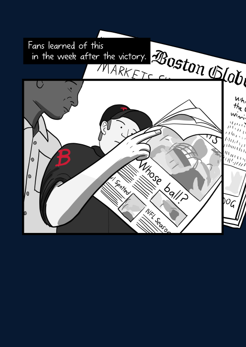 Low angle cartoon people reading newspaper. Fans learned of this in the week after the victory.