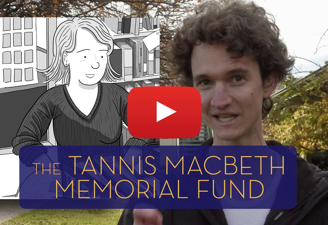 Stuart McMillen and the Tannis MacBeth Memorial Fund
