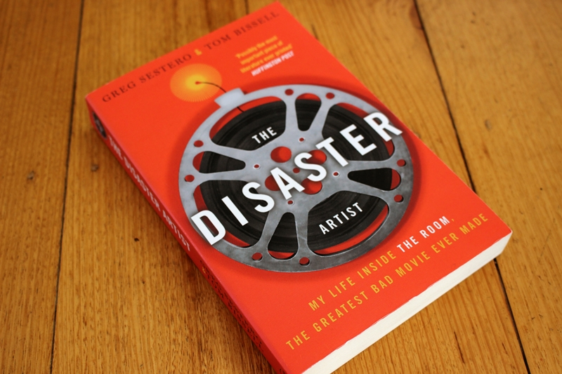 Greg Sestero - The Disaster Artist - book cover on table